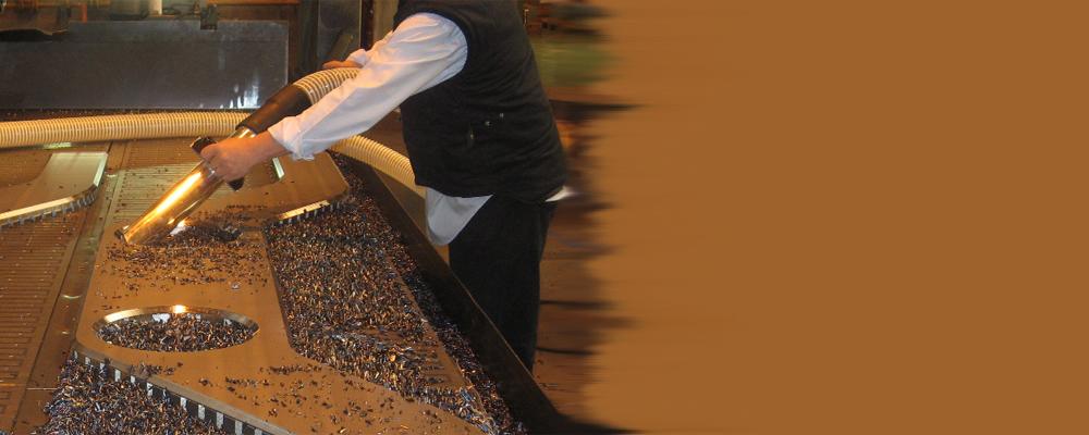 Промишлени прахосмукачки за почистване в металургията